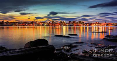 Ocean Photograph - Portland Maine by Benjamin Williamson