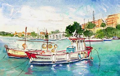 Porto Cristo 03 Print by Miki De Goodaboom