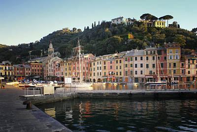 Portofino At Dawn Print by Bob Snell