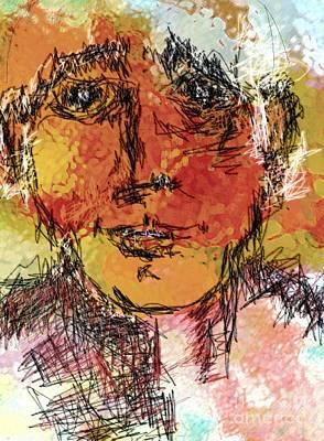 Portrait 11 Print by Mimo Krouzian