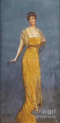 Portraits Painting - Portrait De Madame Vesnitch by Jean Jaques
