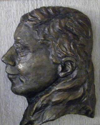Portrait In Bronze Print by Willoughby Senior