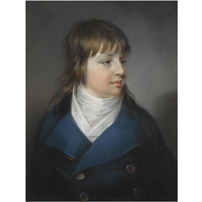 Portrait Painting - Portrait Of A Boy by John Russell