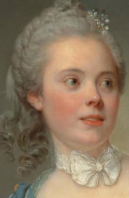 Portrait Of A Lady Print by Jean Baptiste Greuze