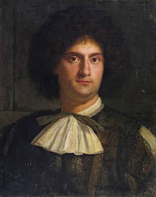 Painting - Portrait Of A Man by Girolamo Forabosco
