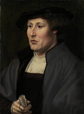 Portrait Painting - Portrait Of A Man by Jan Gossart