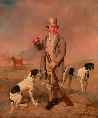 Musket Painting - Portrait Of A Sportsman - Possibly Richard Prince by Mountain Dreams