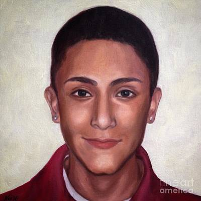 Portrait Of A Teenage Boy Original by Jindra Noewi