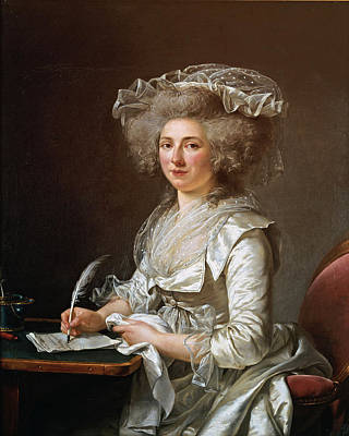 Painting - Portrait Of A Woman by Adelaide Labille-Guiard