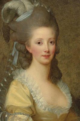 Portrait Of A Woman Print by Elisabeth Louise Vigee-Lebrun