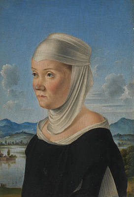 Venice Ca Painting - Portrait Of A Woman by Jacometto