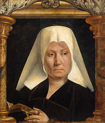 Quentin Matsys Painting - Portrait Of A Woman by Quentin Matsys