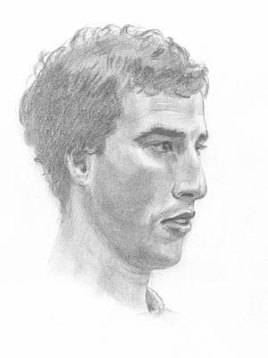 Portrait Of A Young Man Original by Masha Batkova