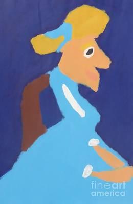 Portrait Of Adeline Ravoux - After Vincent Van Gogh Original by Patrick Francis