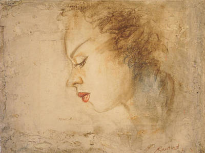 Portrait Of An Angel Original by Agris Rautins