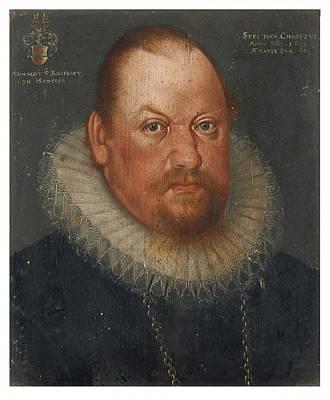 Arnold Painting - Portrait Of Arnold Von Raesfeld by MotionAge Designs