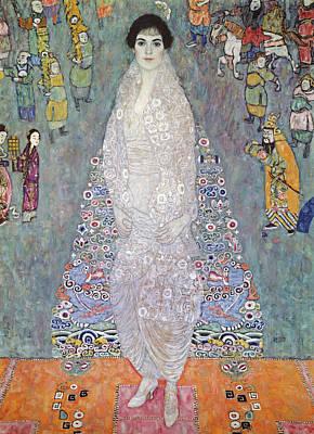 Ghostly Painting - Portrait Of Baroness Elisabeth Bachofen Echt by Gustav Klimt