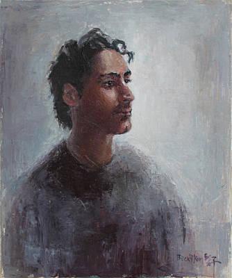 Portrait Of Bomdod Original by Becky Kim