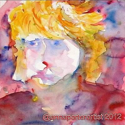 Portrait Of Graham Original by Anna Porter