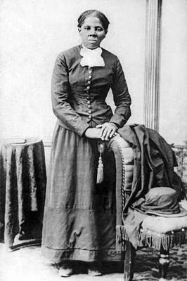 Tubman Photograph - Portrait Of Harriet Tubman by H.B. Lindsey