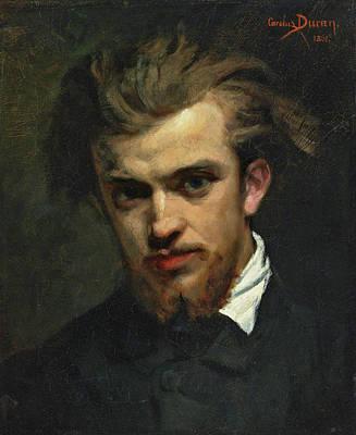 Carolus-duran Painting - Portrait Of Henri Fantin-latour by Carolus-Duran