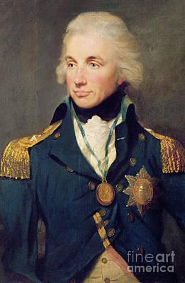Trafalgar Painting - Portrait Of Horatio Nelson by Lemuel Francis Abbott