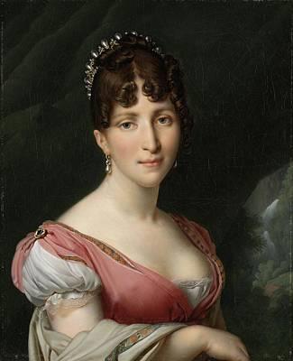 Portrait Painting - Portrait Of Hortense De Beauharnais, Queen Of Holland, 1805 by Anne Louis Girodet-Trioson