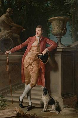 Statue Portrait Painting - Portrait Of John Talbot - Later 1st Earl Talbot by Mountain Dreams