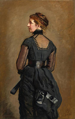 Charles Dickens Painting - Portrait Of Kate Perugini Daughter Of Charles Dickens by John Everett Millais