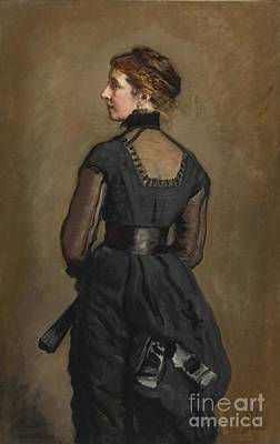 Charles Dickens Painting - Portrait Of Kate Perugini Daughter Of Charles Dickens by MotionAge Designs