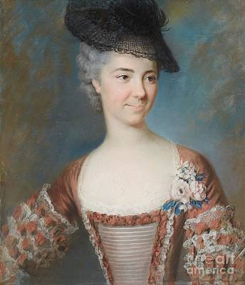Raymond Painting - Portrait Of Madame De St. Jacques Nee Raymond by MotionAge Designs