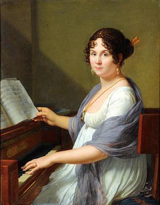 Francois Xavier Fabre Painting - Portrait Of Madame Louis-francois Bertin by Francois-Xavier Fabre