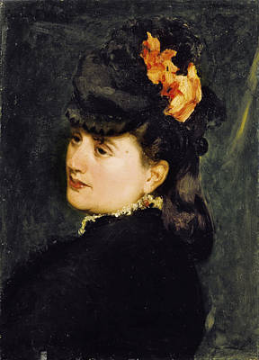Carolus-duran Painting - Portrait Of Mrs Ernest Feydeau Later Mrs Henri Fouquier by Carolus-Duran