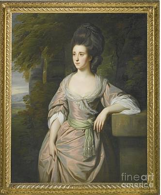 Nathaniel Painting - Portrait Of Mrs Paterson by Nathaniel Dance