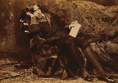 Famous Book Photograph - Portrait Of Oscar Wilde by Sarony Napoleon
