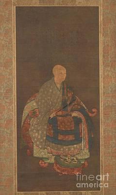 Shunned Painting - Portrait Of Portrait Of Shun'oku Myoha Shun Oku Myoha  by MotionAge Designs