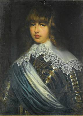 Christian Painting - Portrait Of Prince Waldemar Christian Of Denmark by MotionAge Designs