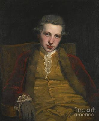 Portrait Of Robert Welford Print by Joshua Reynolds