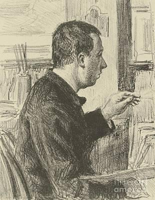 Portraits Painting - Portrait Of Signac by Celestial Images