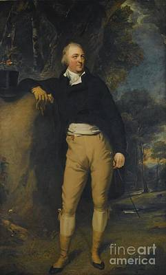 Portrait Of Thomas Lister Print by Sir Thomas Lawrence