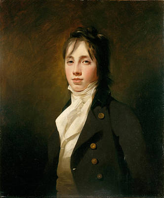 Henry Raeburn Painting - Portrait Of William Fraser Of Reelig by Henry Raeburn