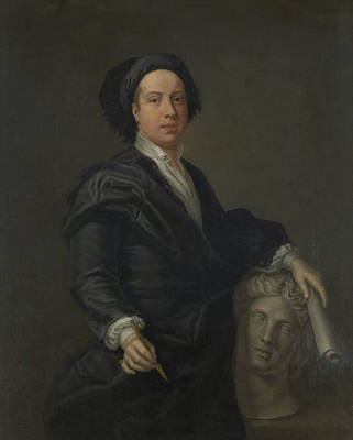 Kent Painting - Portrait Of William Kent by William Aikman