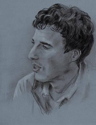 Portrait Of Young Man 19 Original by Masha Batkova