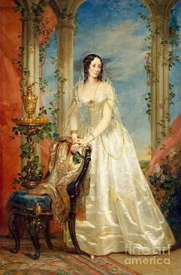 Robertson Painting - Portrait Of Zinaida. Yusupova by Christina Robertson