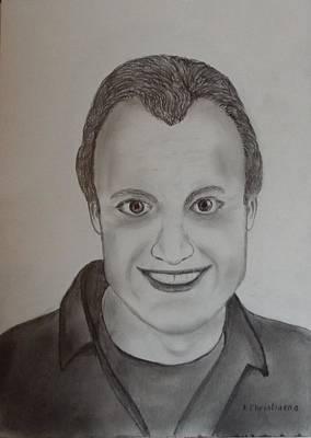 Portret Print by Freddy Christiaens