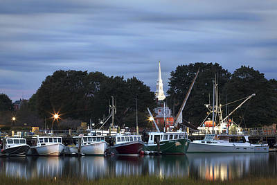 Prescott Photograph - Portsmouth Fish Pier by Eric Gendron