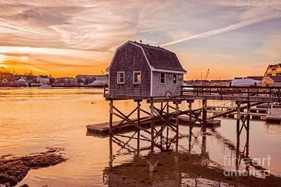 Portsmouth Photograph - Portsmouth Sunset by Edward Fielding