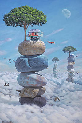 Metaphysical Painting - Possessing A Most Irrational Sense Of Optimism by Paul Bond