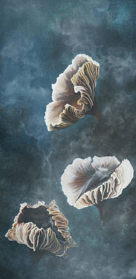 Fungi Painting - Possibility by Emily Magone