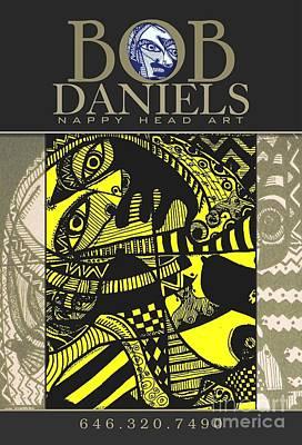 Robert Daniels Digital Art - Poster Art by Robert Daniels